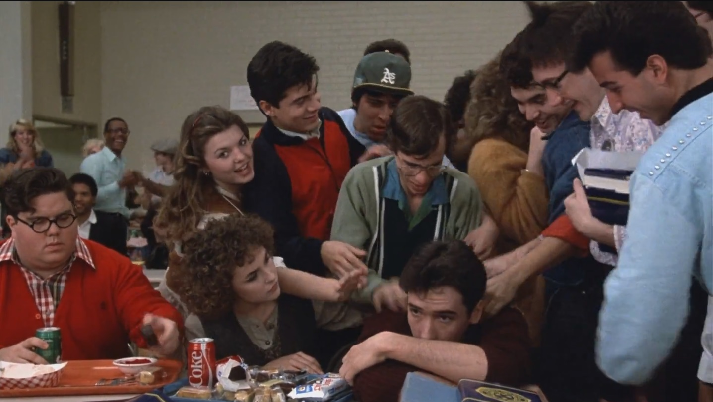 John Cusack, Diane Franklin, and Dan Schneider in Better Off Dead... (1985)