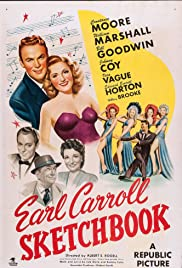 Earl Carroll Sketchbook Poster