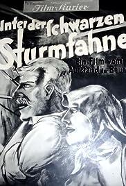Unter der schwarzen Sturmfahne Poster