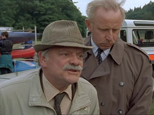 David Jason and John Lyons in A Touch of Frost (1992)