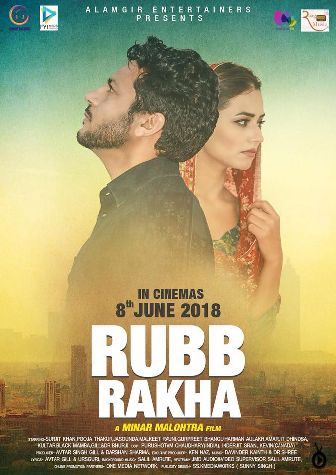 Rubb Rakha (2018) Punjabi 431MB HDRip Download