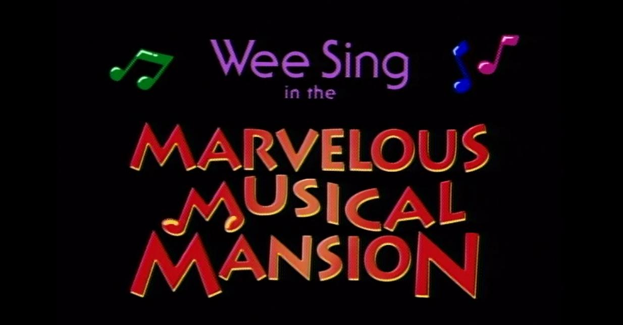Wee Sing The Best Christmas Ever Vhs.Wee Sing In The Marvelous Musical Mansion Video 1992 Imdb