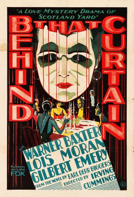 Behind That Curtain (1929)