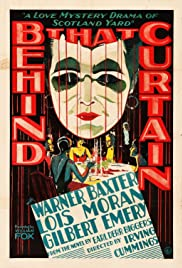 Behind That Curtain(1929) Poster - Movie Forum, Cast, Reviews