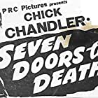 Chick Chandler, June Clyde, and Gregory Gaye in Seven Doors to Death (1944)