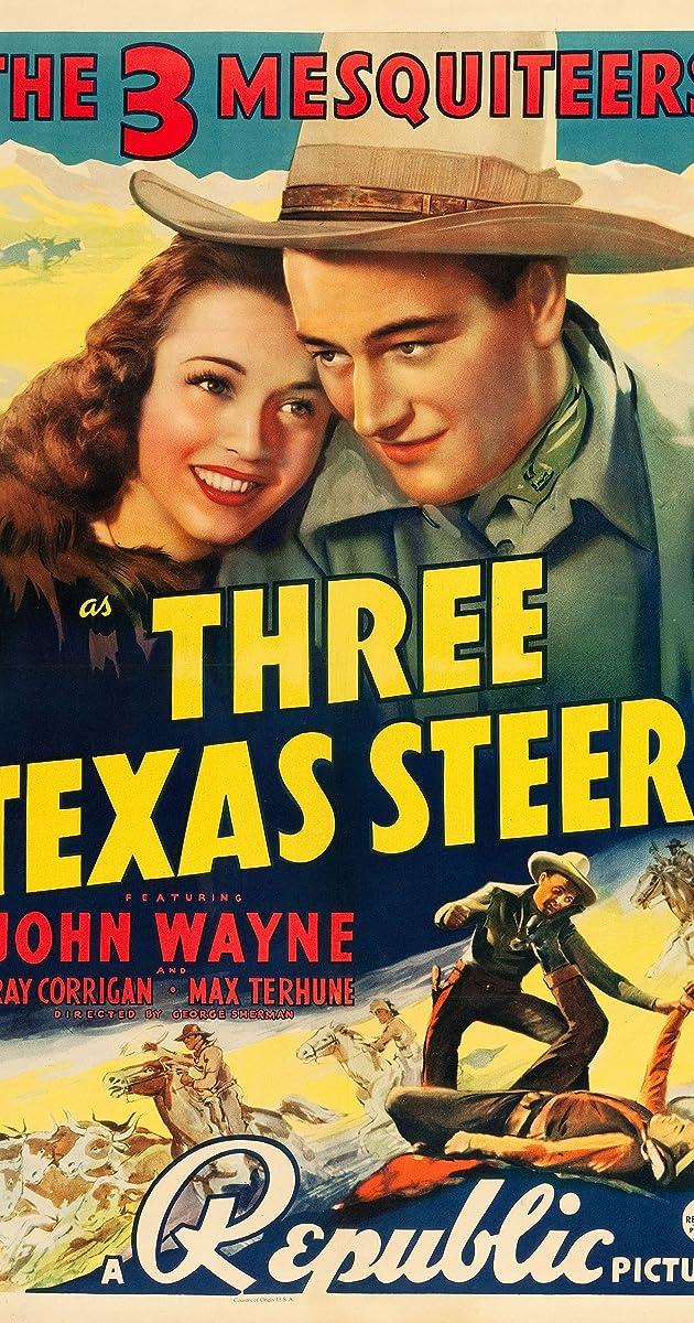 Subtitle of Three Texas Steers