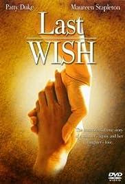 Last Wish Poster