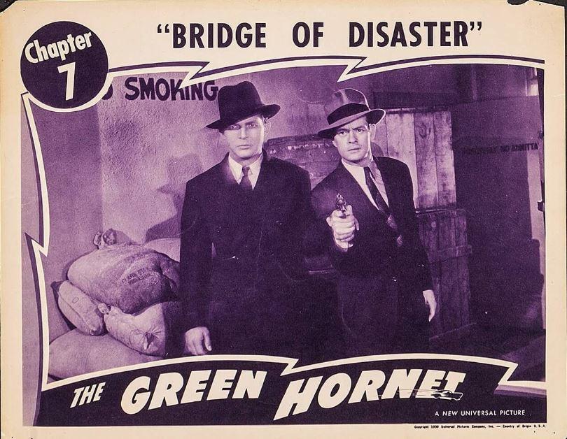 Gordon Jones and Phillip Trent in The Green Hornet (1940)