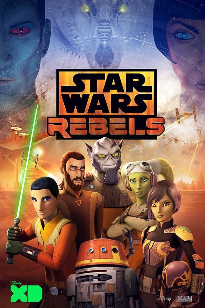 Freddie Prinze Jr., Steve Blum, Vanessa Marshall, Dave Filoni, Tiya Sircar, and Taylor Gray in Star Wars: Rebels (2014)
