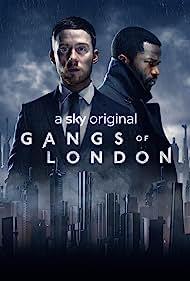 Joe Cole and Sope Dirisu in Gangs of London (2020)