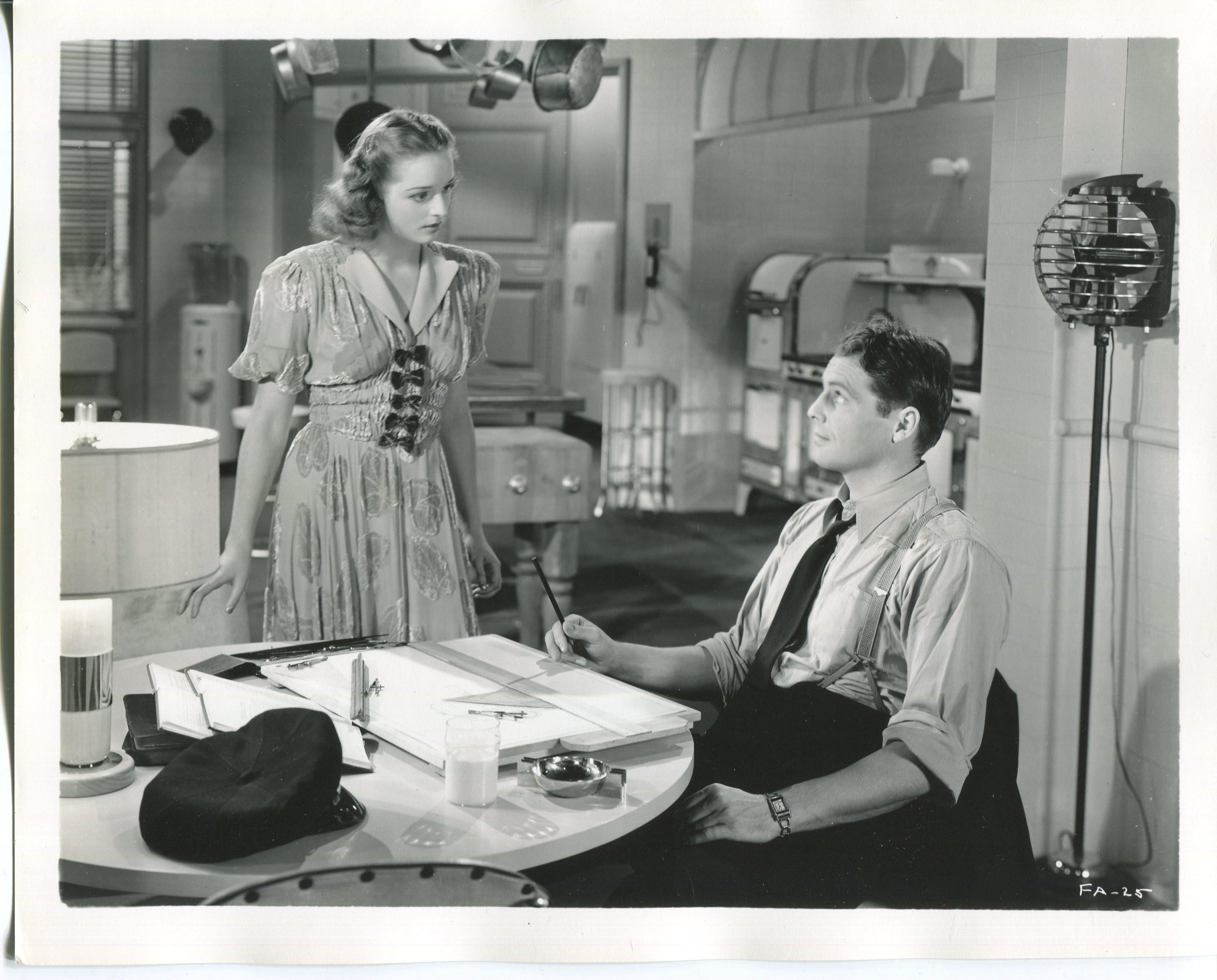 Kathryn Adams and James Ellison in Fifth Avenue Girl (1939)