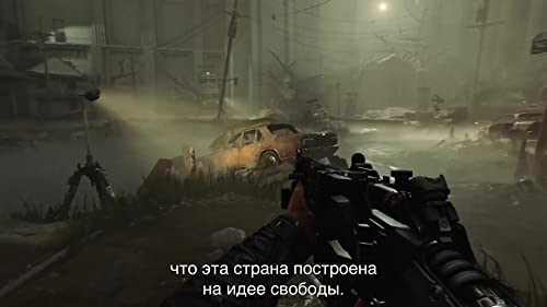 Wolfenstein II: The New Colossus: Talking Heads Story Trailer (Russian Subtitled)