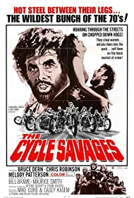 Bruce Dern, Melody Patterson, and Chris Robinson in The Cycle Savages (1969)