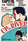 Humphrey Bogart and Claire Luce in Up the River (1930)