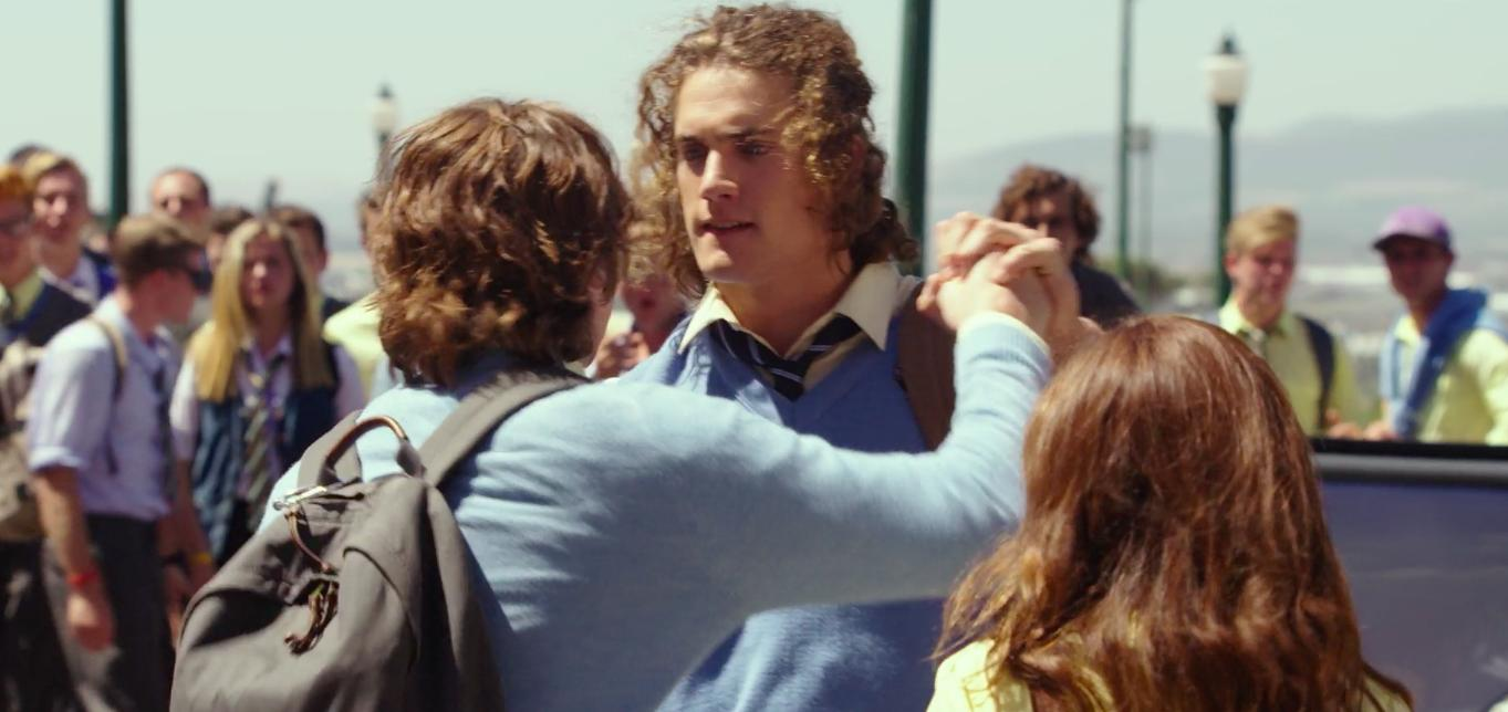 Image from scene out of The Kissing Booth (Netflix)