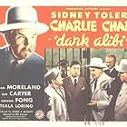 Benson Fong, Meyer Grace, Russell Hicks, and Sidney Toler in Dark Alibi (1946)