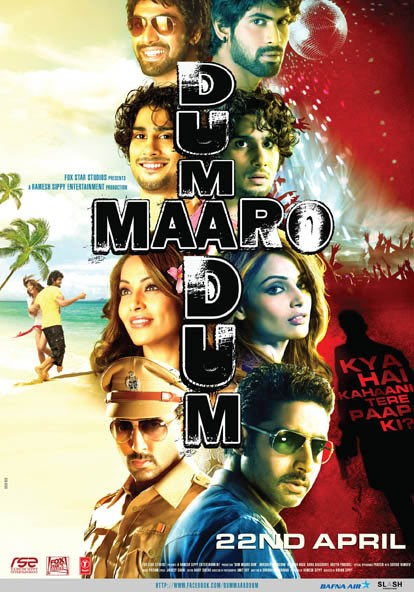 Dum Maaro Dum 2011 Hindi Full Movie 720p HDRip 950MB ESub Download