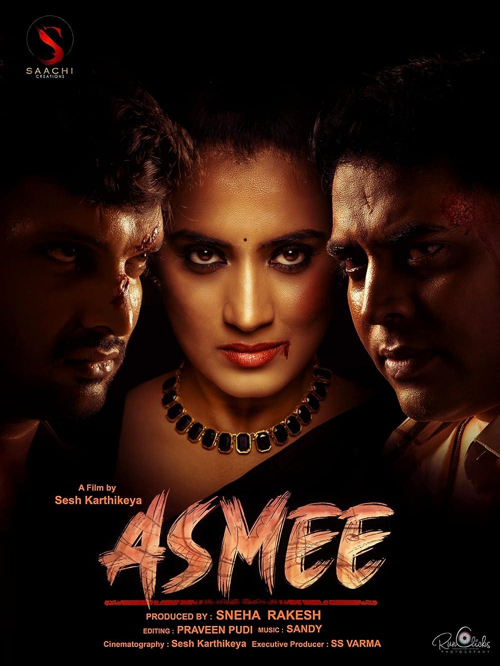 Asmee 2021 Telugu 480p HDRip ESub 401MB Download