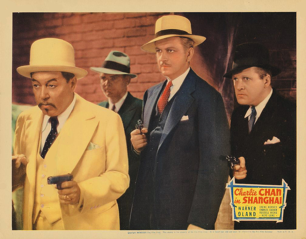 Eddie Hart, Russell Hicks, Russell Hopton, and Warner Oland in Charlie Chan in Shanghai (1935)
