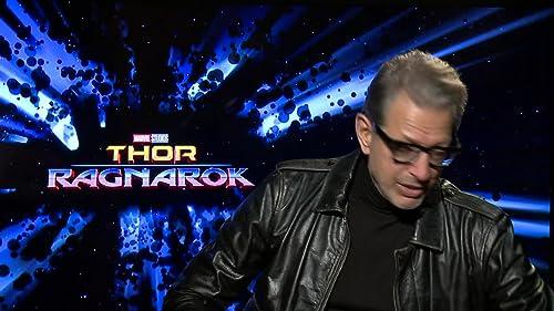 Jeff Goldblum Talks About Playing the Grandmaster in 'Thor: Ragnarok'