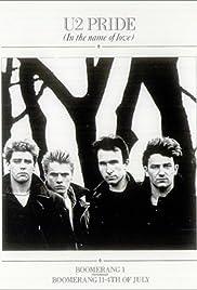 U2: Pride (In the Name of Love), Version 1 Poster