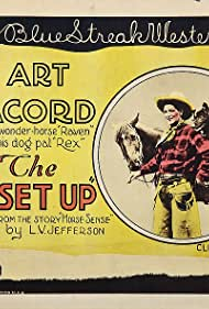 Art Acord, Rex the Dog, and Raven the Horse in The Set-Up (1926)