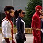 Michelle Harrison, John Wesley Shipp, Jessica Parker Kennedy, Grant Gustin, Candice Patton, and Jordan Fisher in Heart of the Matter, Part 2 (2021)