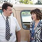 Edi Patterson and Danny McBride in Vice Principals (2016)
