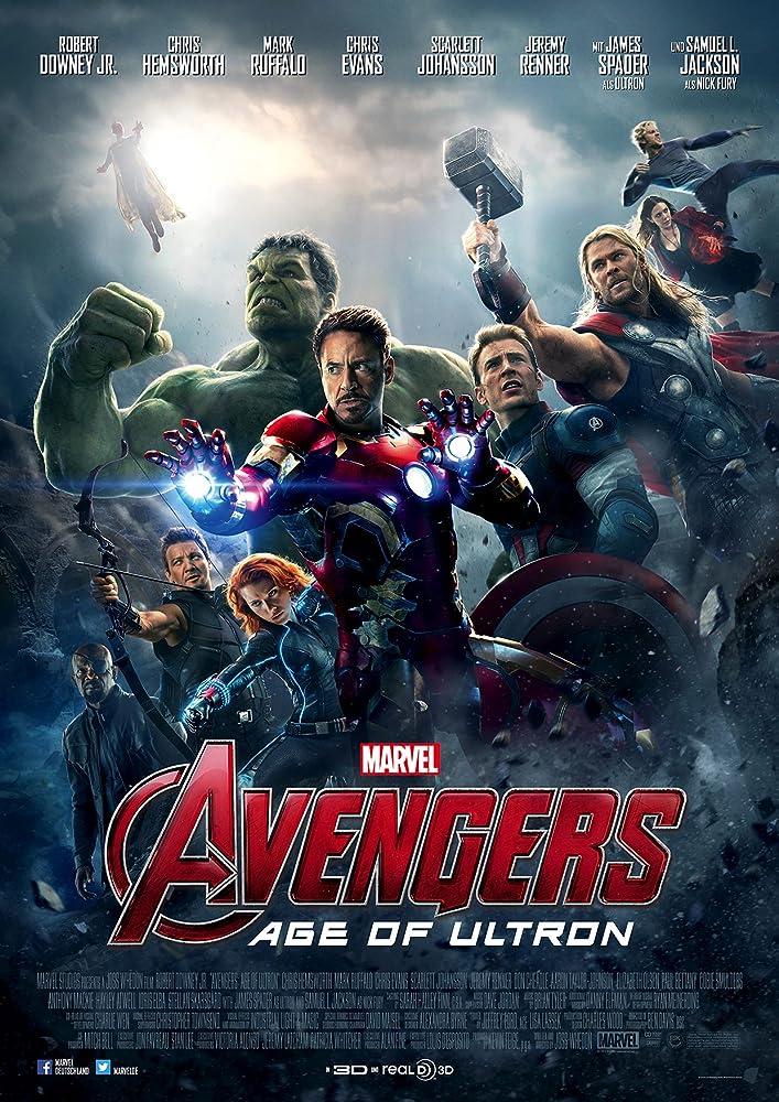 Vingadores: Era de Ultron (2015) Dual Áudio | Dublado DVD-R Oficial Uptobox Download