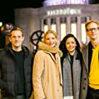 Malte Wirtz, Sophie Reichert, Bea Brocks, and André Groth at an event for Only One Day in Berlin (2018)