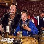Jason Flowers, Ashly Covington, and Gabriel Scalone in The Rock Monster of Lingendar (2017)