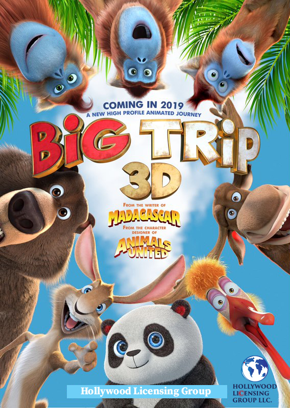 The Big Trip 2019 English 720p HDRip 800MB