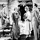 Myrna Loy, Alice Brady, Martin Burton, Ann Harding, Robert Montgomery, and Frank Morgan in When Ladies Meet (1933)