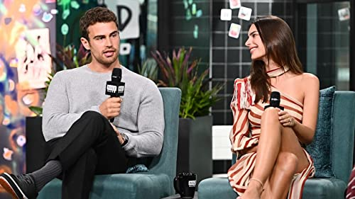 "BUILD: Theo James & Emily Ratajkowski Spoke in ""Song & Dance"" Throughout Filming"