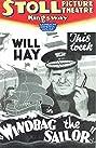Windbag the Sailor (1936) Poster