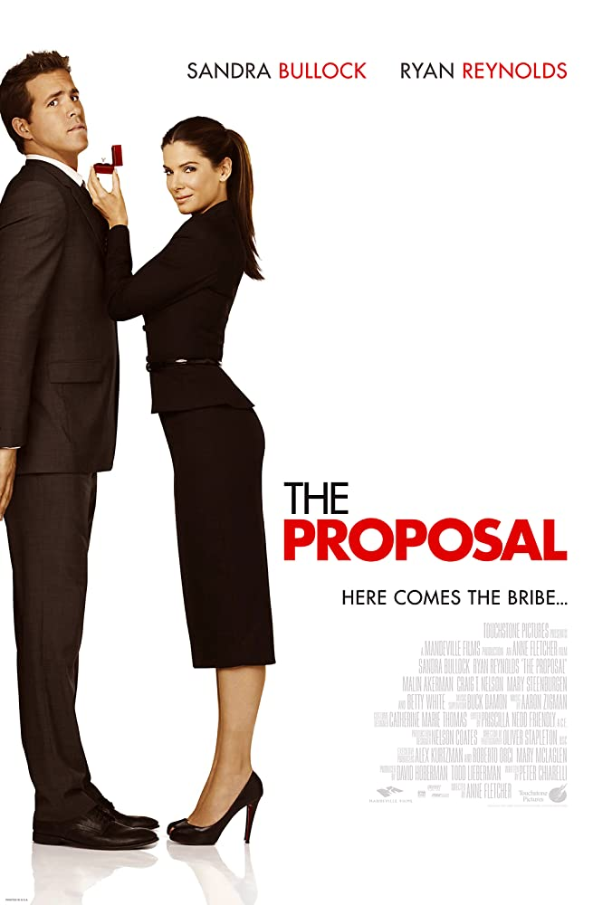 Sandra Bullock and Ryan Reynolds in The Proposal (2009)