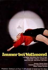 Immer bei Vollmond Poster