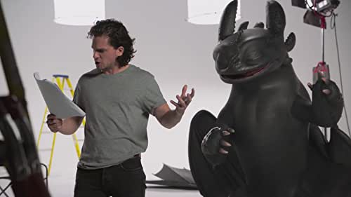 Kit Harington Auditions With Toothless