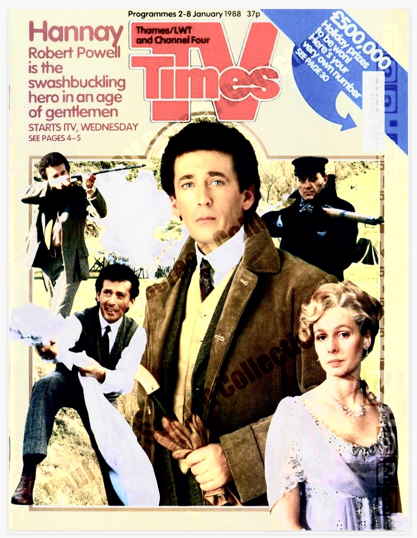 TV Times magazine with Hannay cover