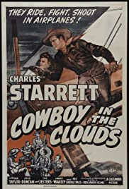 Cowboy in the Clouds Poster