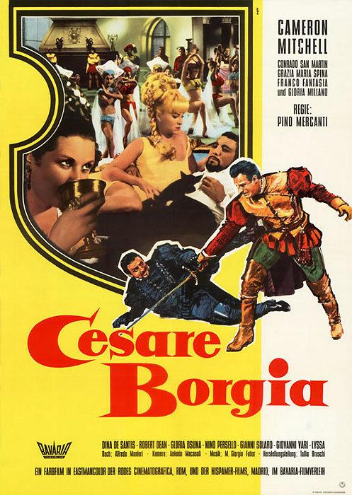 Franco Fantasia, Gloria Milland, Pino Mercanti, Cameron Mitchell, Conrado San Martín, and Maria Grazia Spina in Il duca nero (1963)