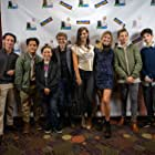 Landon Drake, Reed Taylor, Will Hyde, Katie Burgess, Max Purget, Connie Franklin, and Michael Hodges in The Sneak Over (2020)