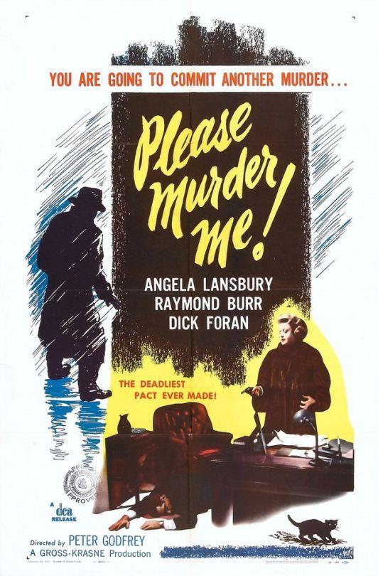 Angela Lansbury in Please Murder Me! (1956)