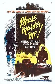 Please Murder Me! (1956)