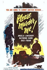 Please Murder Me! (1956) Poster - Movie Forum, Cast, Reviews
