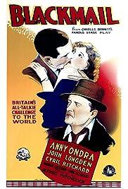 Blackmail (1929) filme kostenlos