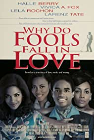 Vivica A. Fox, Halle Berry, Lela Rochon, and Larenz Tate in Why Do Fools Fall in Love (1998)
