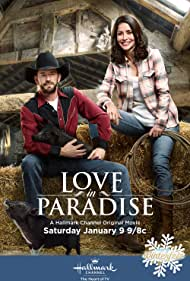 Luke Perry and Emmanuelle Vaugier in Love in Paradise (2016)