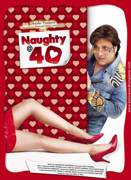 Naughty @ 40 2011 Hindi 1080p HDRip ESubs 2025MB Download
