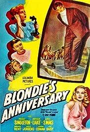 Blondie's Anniversary Poster